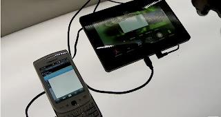 blackberry bridge application