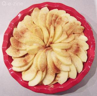 gateau pommes cannelles