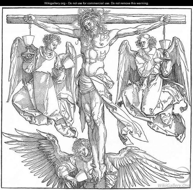 Christ With Three Angels
