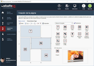 Diseña tu web con WebsiteX5
