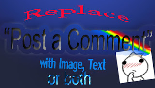 customize post a comment with text