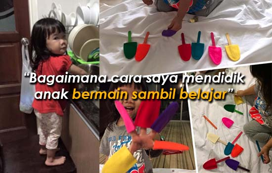 Cara bagaimana mendidik anak bermain sambil belajar