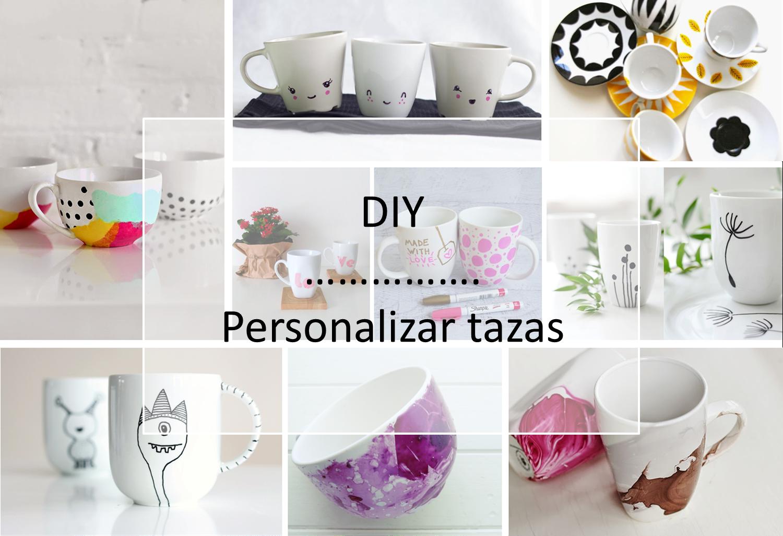 T cnicas y diy para personalizar tazas decoraci n for Decoracion con tazas de cafe