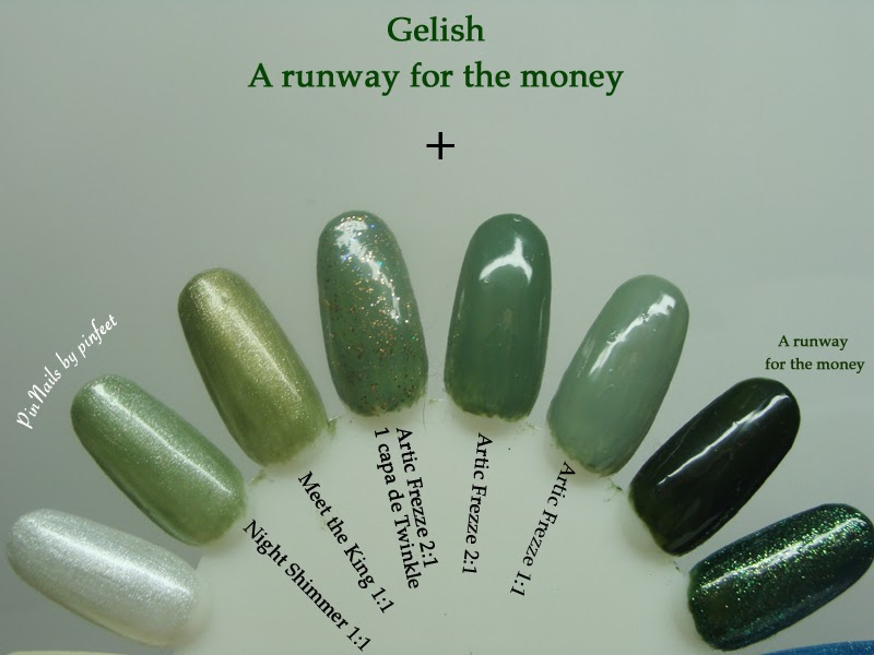 PinNails: Gelish: A runway for the money + Mix
