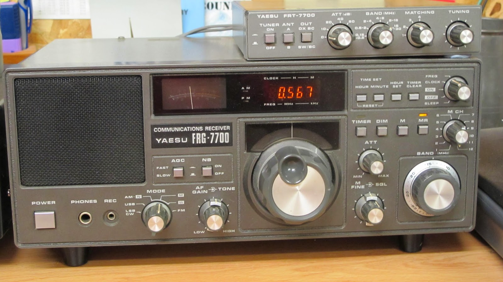I have owned this Yaesu FRG7700 at least twenty years, my old pal Willie  (r.i.p) sold it to me after his last transatlantic crossing on his Lello 34  named ...