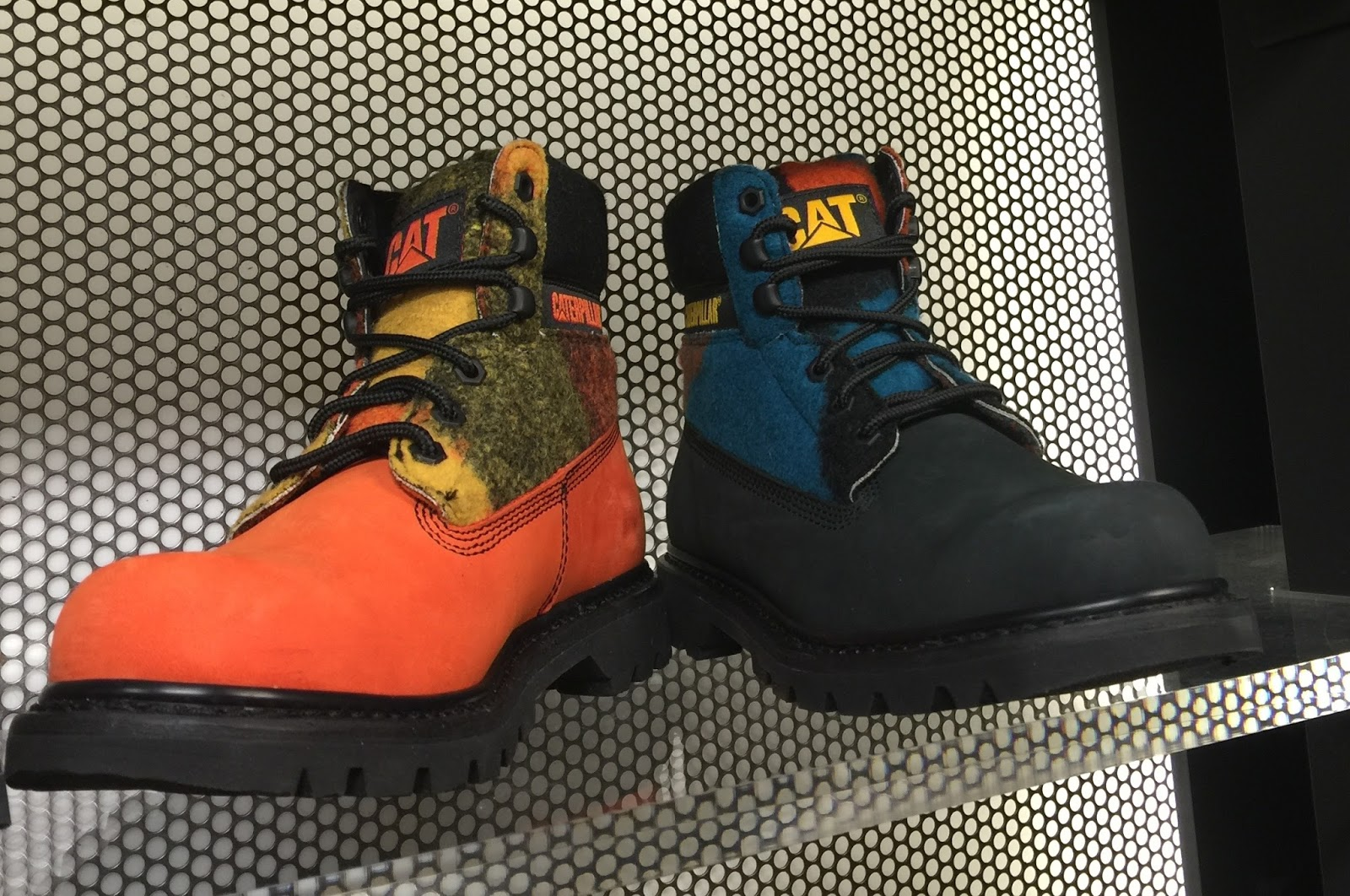 SOLID ON COLORS: The Blues: Tech Wear/Accessories/Footwear F/W 2015