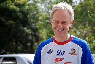 Roberto Branco, da SAF, deseja boa sorte aos esportistas do município