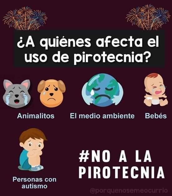 CAMPAÑA DE USO DE LA PIROTECNIA