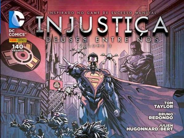 Lançamentos de março da Panini Comics - DC Comics