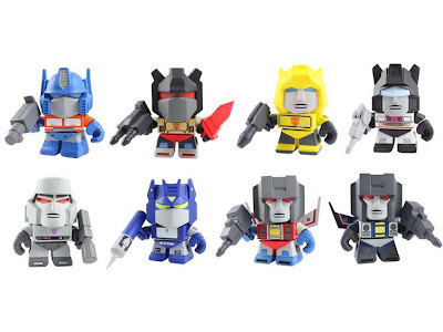The Loyal Subjects Tramsformers Super-Deformed figures