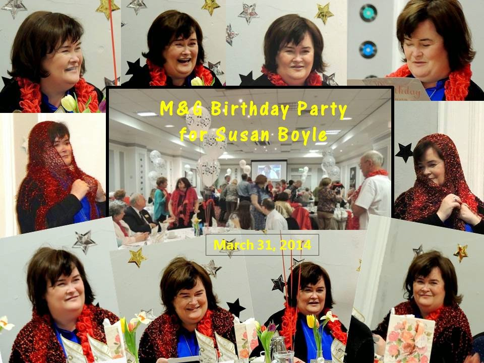 Susan Boyle's 53rd Birthday Party