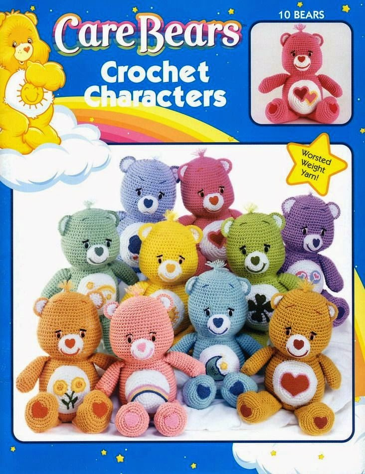 Free Japanese Craft Patterns Care Bears Crochet Characters Free