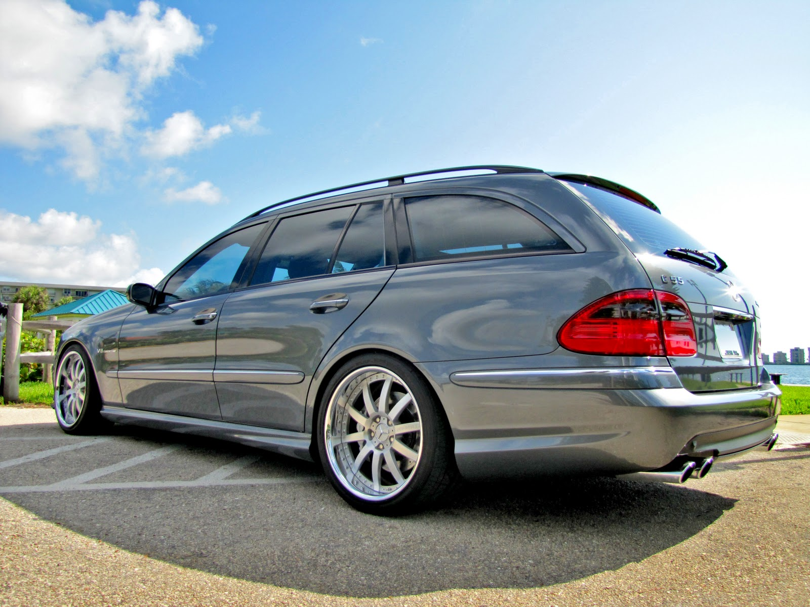 Mercedes benz w211 e55t amg wagon renntech benztuning for Mercedes benz e wagon