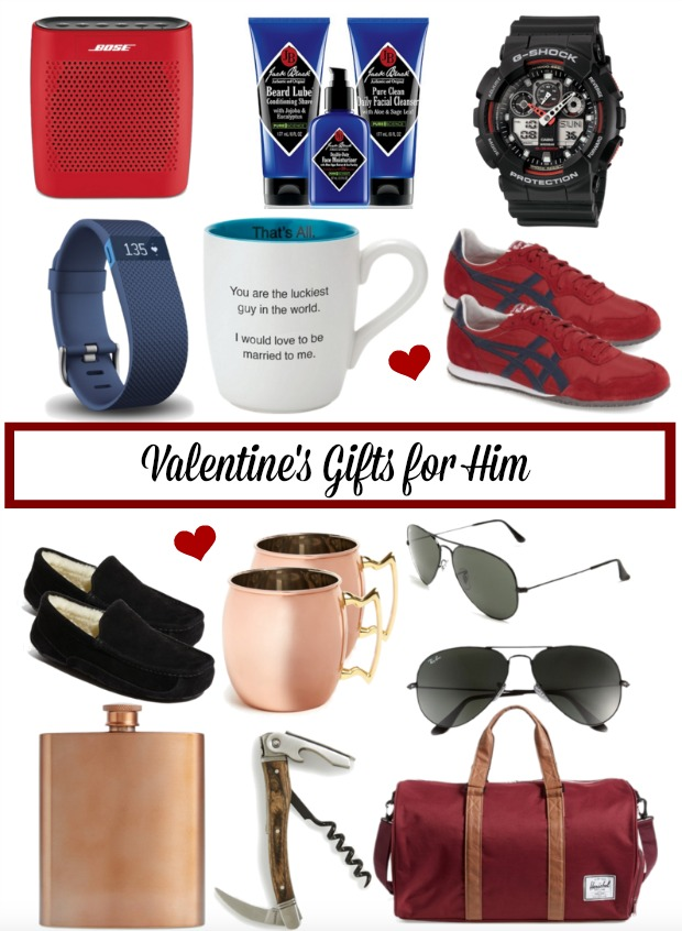 Need help finding a cool Valentine's Day gift for your guy?  This post has gift options he'll surely like!