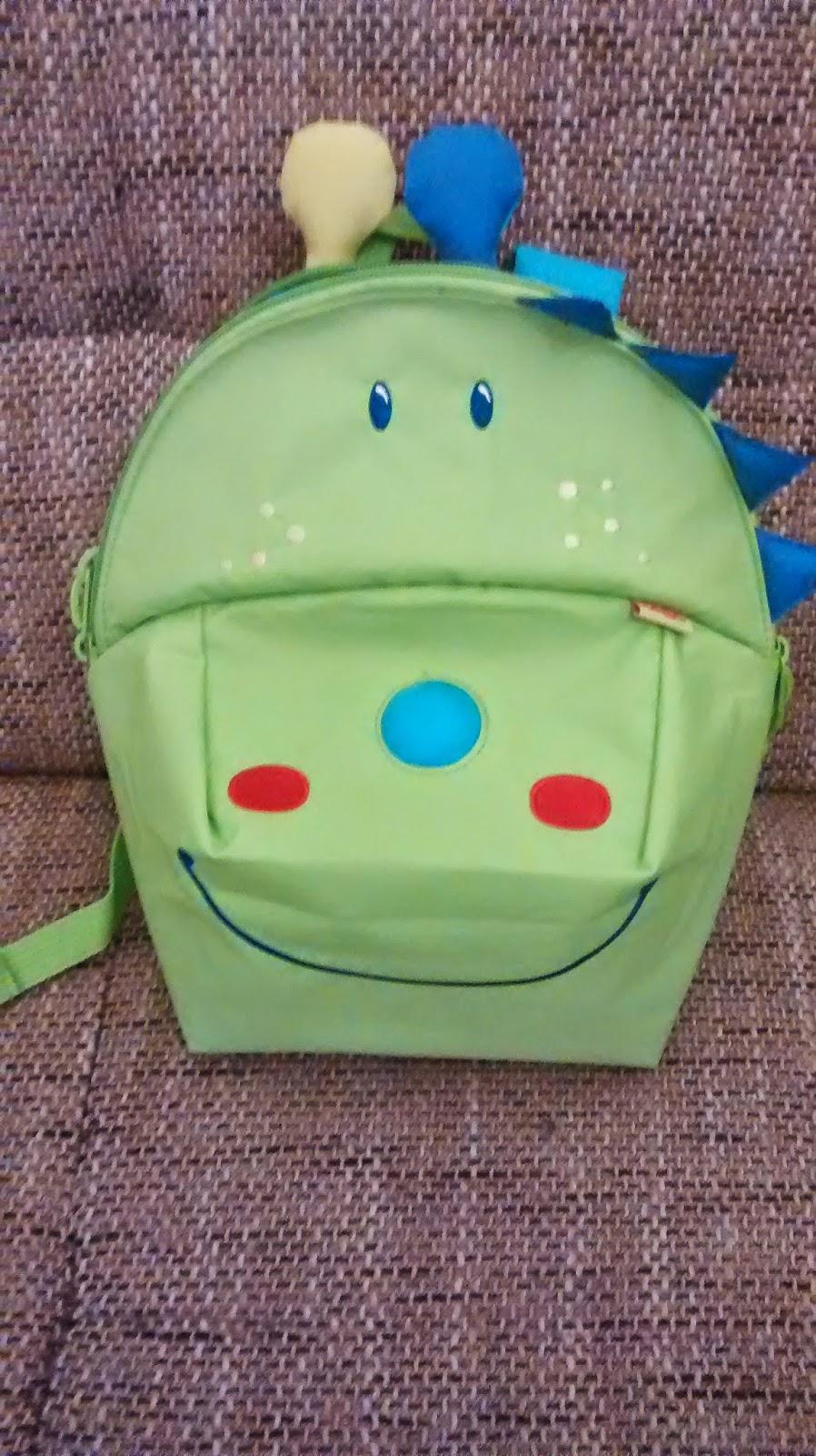 Runzelfuesschen Kindergartenrucksack Drachen