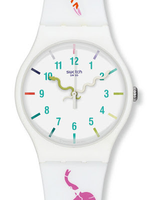 SWATCH LEGEND OF WHITE SNAKE