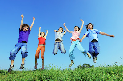 A la mayoría de los niños les encantan las actividad que requieren movimiento