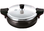 SNapdeal: Buy Pigeon – Belita 3-in-1 Hard Anodized 3 Ltr Pressure Cooker Set at Rs. 1436