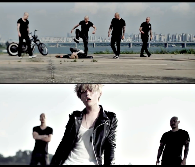 U-Kwon block b be the light mv screencap