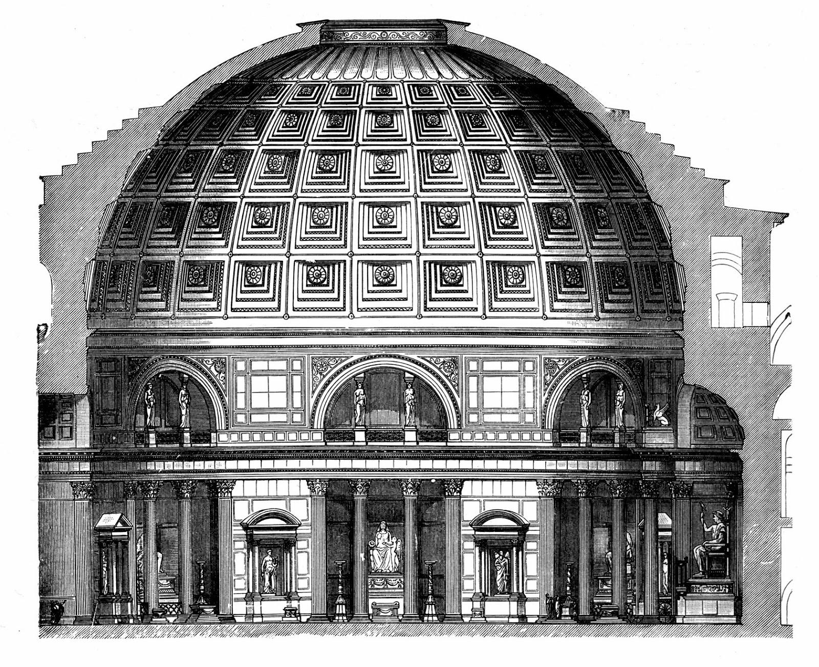 Il blog di fabrizio falconi i numeri come archetipi e l for Esterno pantheon