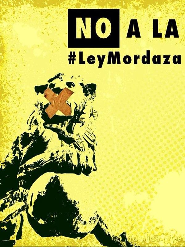 #LeyMordaza