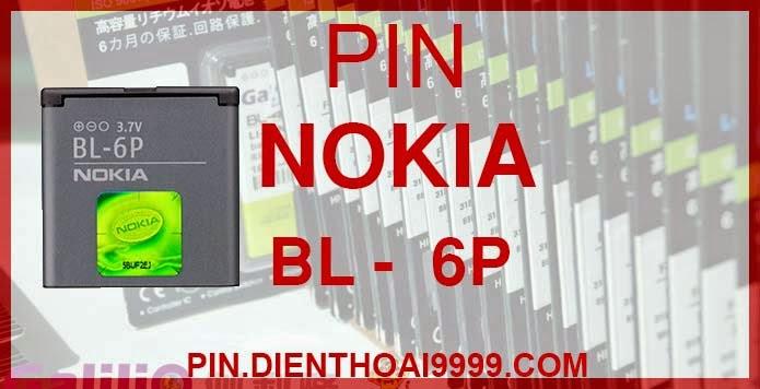 """Pin Nokia BL-6P cho Nokia 6500c 7900 - Pin Nokia BL 6P chính hãng  - Giá 150.000 - Bảo hành: 6 tháng  - Pin BL 6P dung lượng cao 1200mAh - Giá 130.000 - Bảo hành: 6 tháng   Thông số kĩ thuật: - Pin tương thích với điện thoại Nokia  6500c/ 7900 prism - Pin bl 6p được thiết kế kiểu dáng và kích thước y như pin nguyên bản theo máy, Pin tiêu chuẩn, chất lượng như pin theo máy. - Kích thước: 37 mm x 37 mm x 6 mm - Dung lượng: 1200 mah - Điện thế: 3.7V - Công nghệ: Pin Li-ion Battery  Mô tả sản phẩm: - Pin Galilio nhờ nghiên cứu và phát triển công nghệ lithium nên đã đạt được pin dung lượng cao nhất cho phép (từ 1,5- 2 lần) nhưng vẫn đảm bảo được chất lượng cao, đã vượt qua nhiều tiêu chuẩn chất lượng như ISO 9001, ISO 1400I, CERTIFICATED, hãng cũng ứng dụng Công Nghệ an toàn mà những hãng pin khác không có được: Controller IC, Control swithches, Temperature Fuse.. - Thiết kế kiểu dáng và kích thước y như pin nguyên bản theo máy, thuận tiện và dễ dàng thao tác, pin dung lượng cao cung cấp đủ nguồn điện cho máy sử dụng được trong thời gian dài, có thể mang đi bất cứ đâu để phòng khi pin của máy bạn hết mà không có điều kiện để sạc. - Cho phép bạn giữ các cuộc nói chuyện và bảo đảm cho bạn không bỏ lỡ các cuộc gọi điện thoại quan trọng - Pin sạc bằng cách gắn vào điện thoại và sạc như pin gốc - Sản phẩm đạt tiêu chuẩn tuyệt đối về an toàn cháy nổ - Bảo hành đổi pin mới trong 6 tháng.  GIAO HÀNG VÀ BẢO HÀNH TẬN NHÀ Quý khách có nhu cầu mua pin,  hãy liên hệ với chúng tôi: 0904.691.851 Website: http://pin.dienthoai9999.com  - Hướng dẫn sử dụng, bảo quản pin: http://pin.dienthoai9999.com/p/huong-dan-su-dung-pin - Quy định bảo hành: http://pin.dienthoai9999.com/p/quy-dinh-bao-hanh-pin - Khách hàng góp ý: http://pin.dienthoai9999.com/p/khach-hang-gop-y  Xem thêm pin cùng loại:  - Pin nokia BL- 6F - Pin nokia BP - 6M - Pin nokia BP - 6X  Một số điện thoại dùng được pin dung lượng cao Nokia BL 6P:  Nokia 6500c : """"Dế"""" mỏng nhất của Nokia Là một trong bộ đôi điện thoại mới ra mắt đầ"""