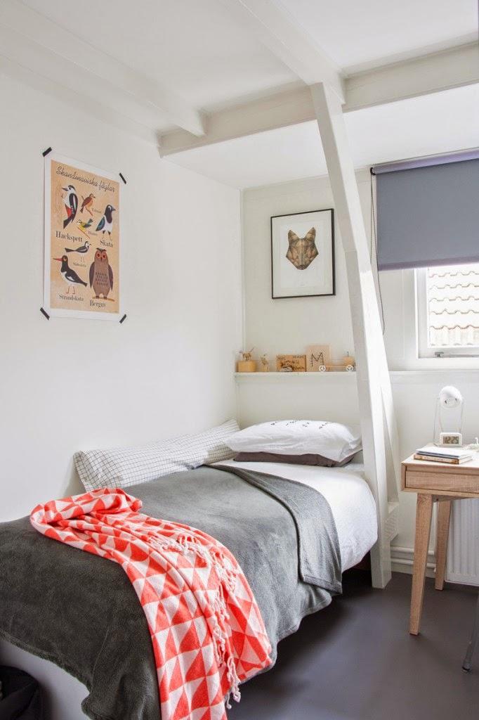 N rdico al natural cocochicdeco for Dormitorio juvenil estilo nordico