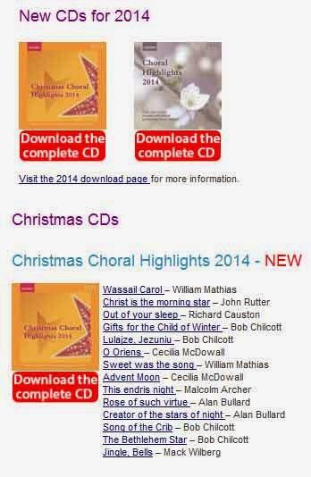 cd Christmas Choral Highlights