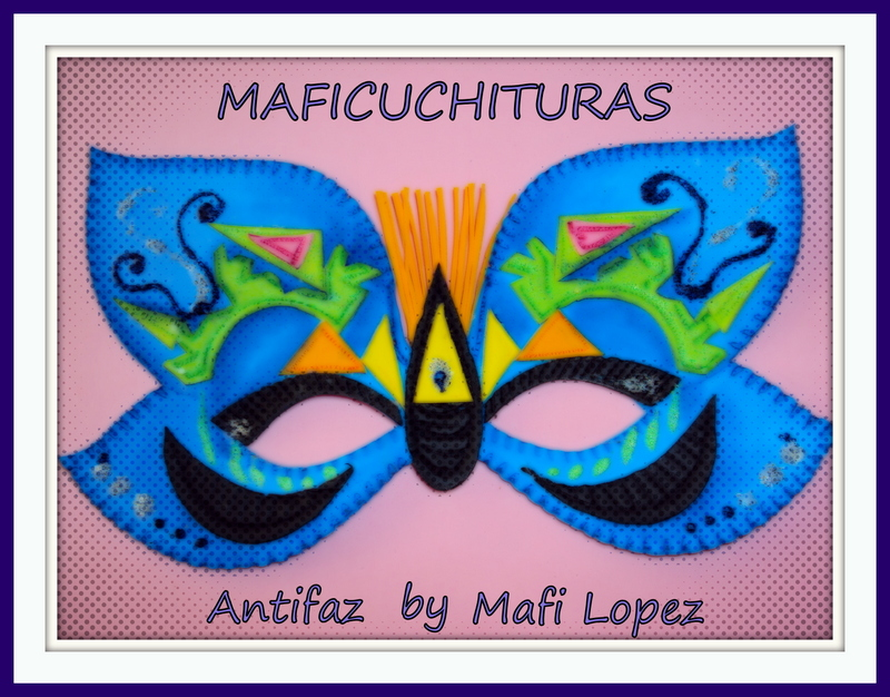 Maficuchituras: Original Antifaz en Foami