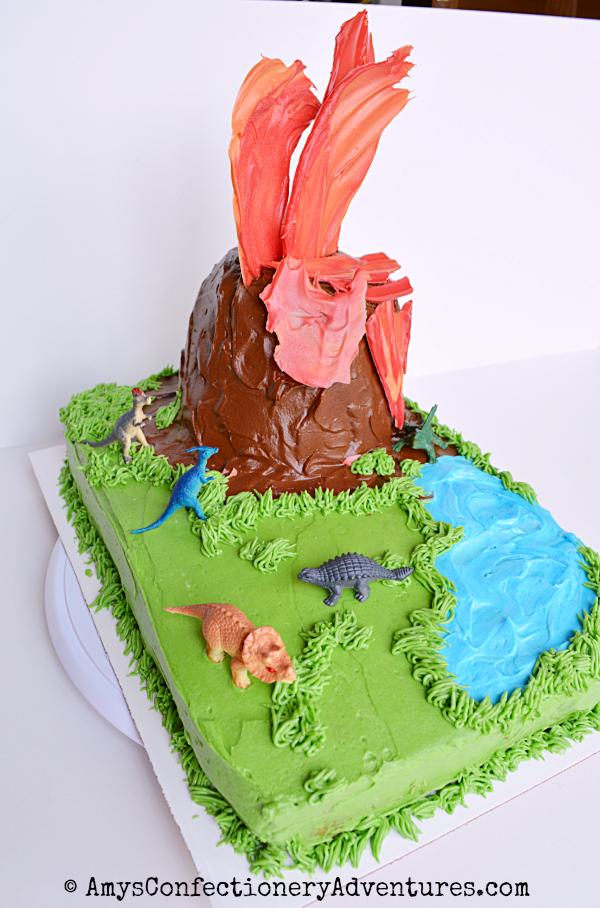 Amys Confectionery Adventures Erupting Volcano Cake