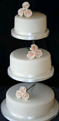 Wedding Cakes With Roses Part 3