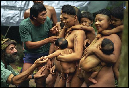 голые дикие племена амазонии фото