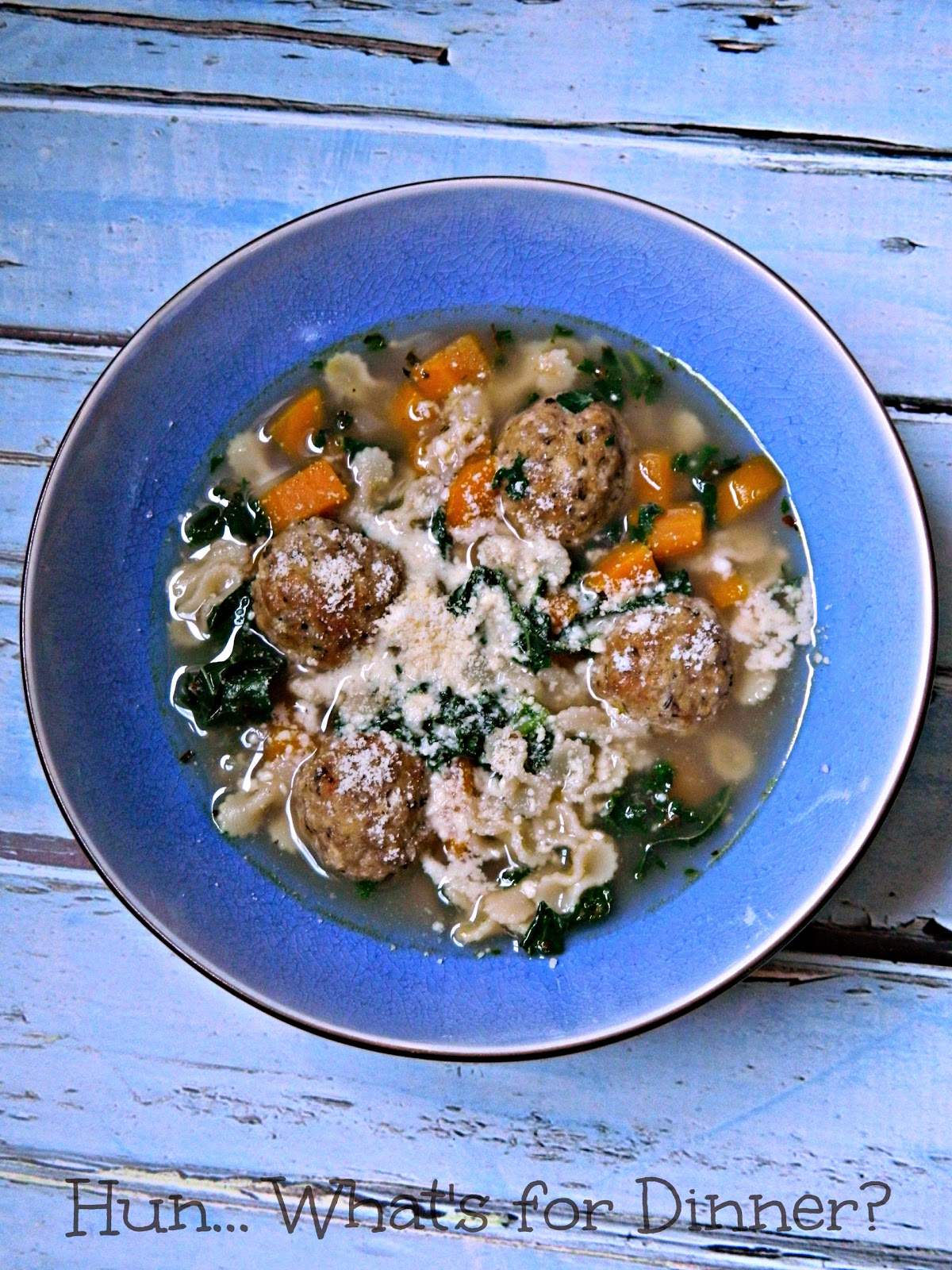 Tender chicken meatballs are the star in this traditional Italian soup ...