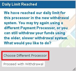 Auto Withdraw Sistem Bucket ProfitClicking