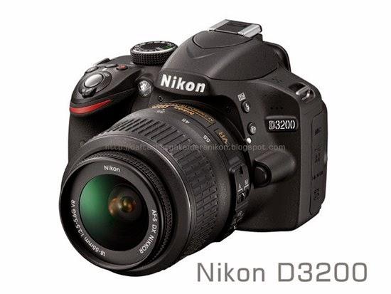 Harga Kamera DSLR Nikon D3200
