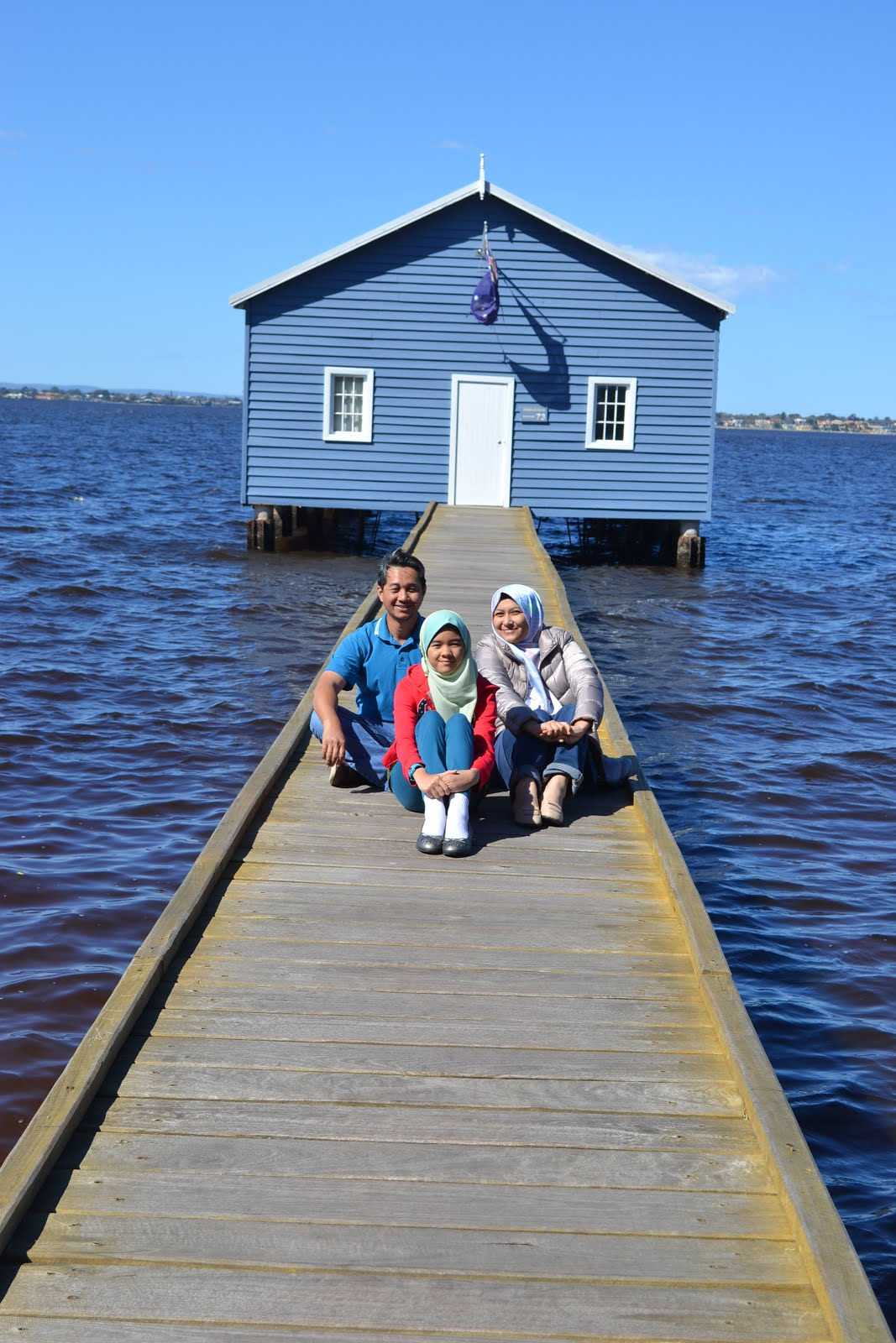My family and I @ Perth, Australia