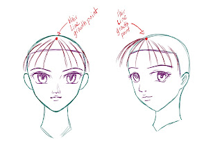 How To Draw Anime Hair Step 3
