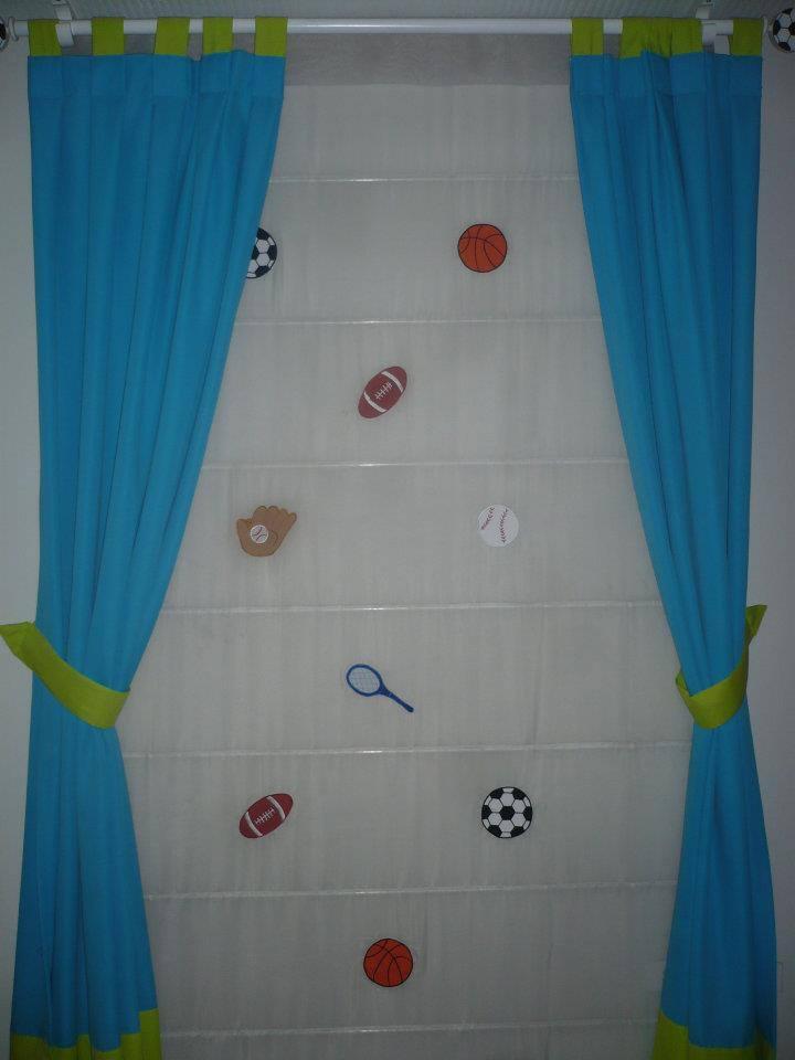 dormitorio de nios with modelos de cortinas para nios