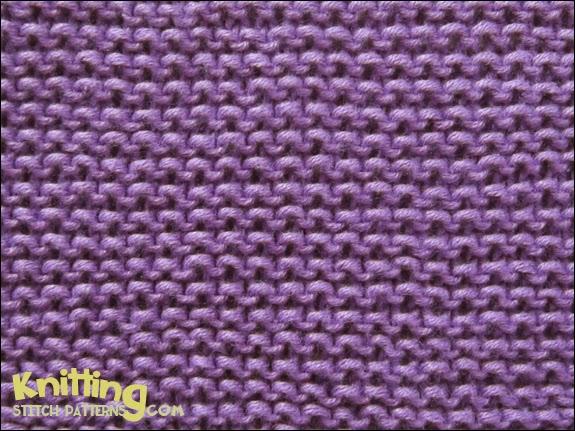 Common Knitting Stitches : Basic Garter Stitch Knitting Stitch Patterns