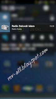notifikasi radio dakwah islam