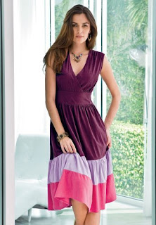 Trendy casual dress for women