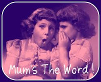 Mum´s the word idiom