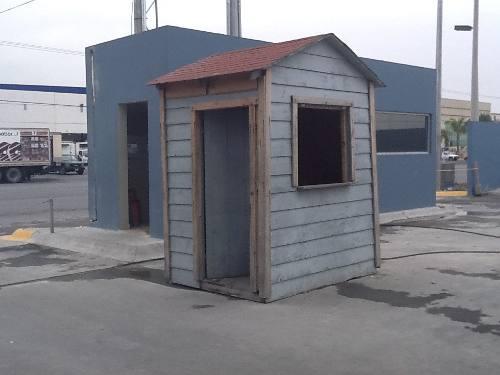 Yandy frank casas prefabricadas casetas de vigilancia for Casas y casetas prefabricadas