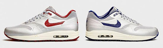 Nike Air Max 1 Hyperfuse \u0026quot;Night Track\u0026quot; Metallic Silver/Deep Royal Blue-Sail: