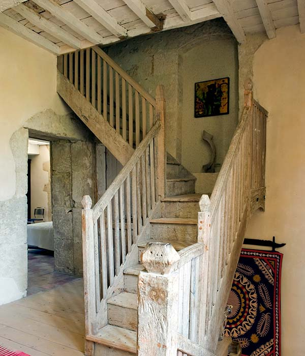 decordemon Abandoned 250 year old stone farmhouse revival in France