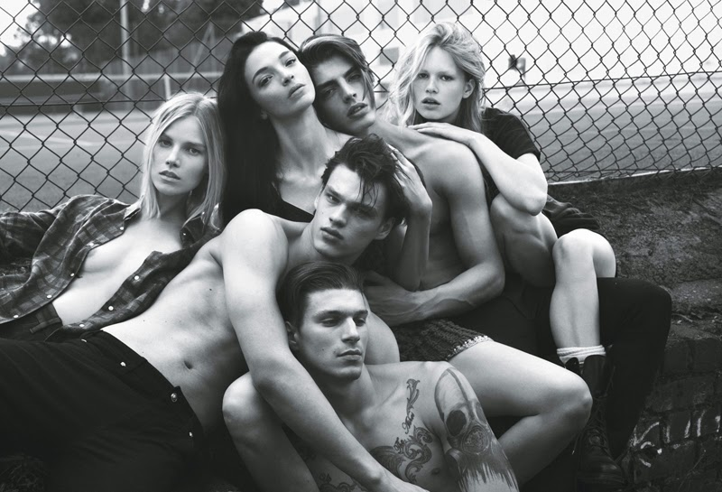 W Magazine Super normal super models