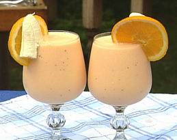 Resep Buka Puasa: Resep Juice Banana Orange