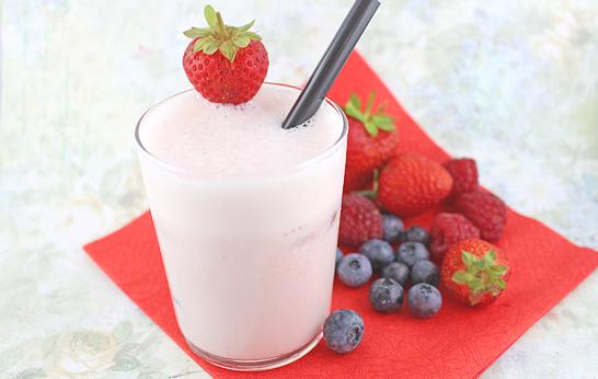 Diamant Eiszauber für Früchte – Milchshake von Gesichtspunkte