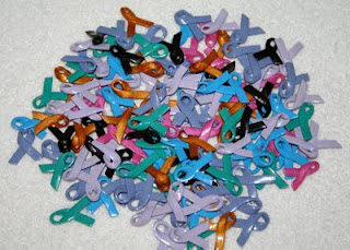 clay awareness ribbons