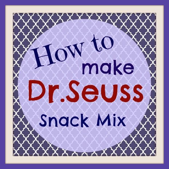 Dr. Seuss snack